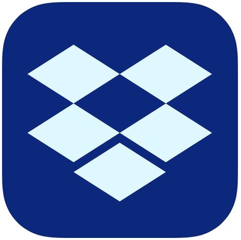 Drtopbox icon blu