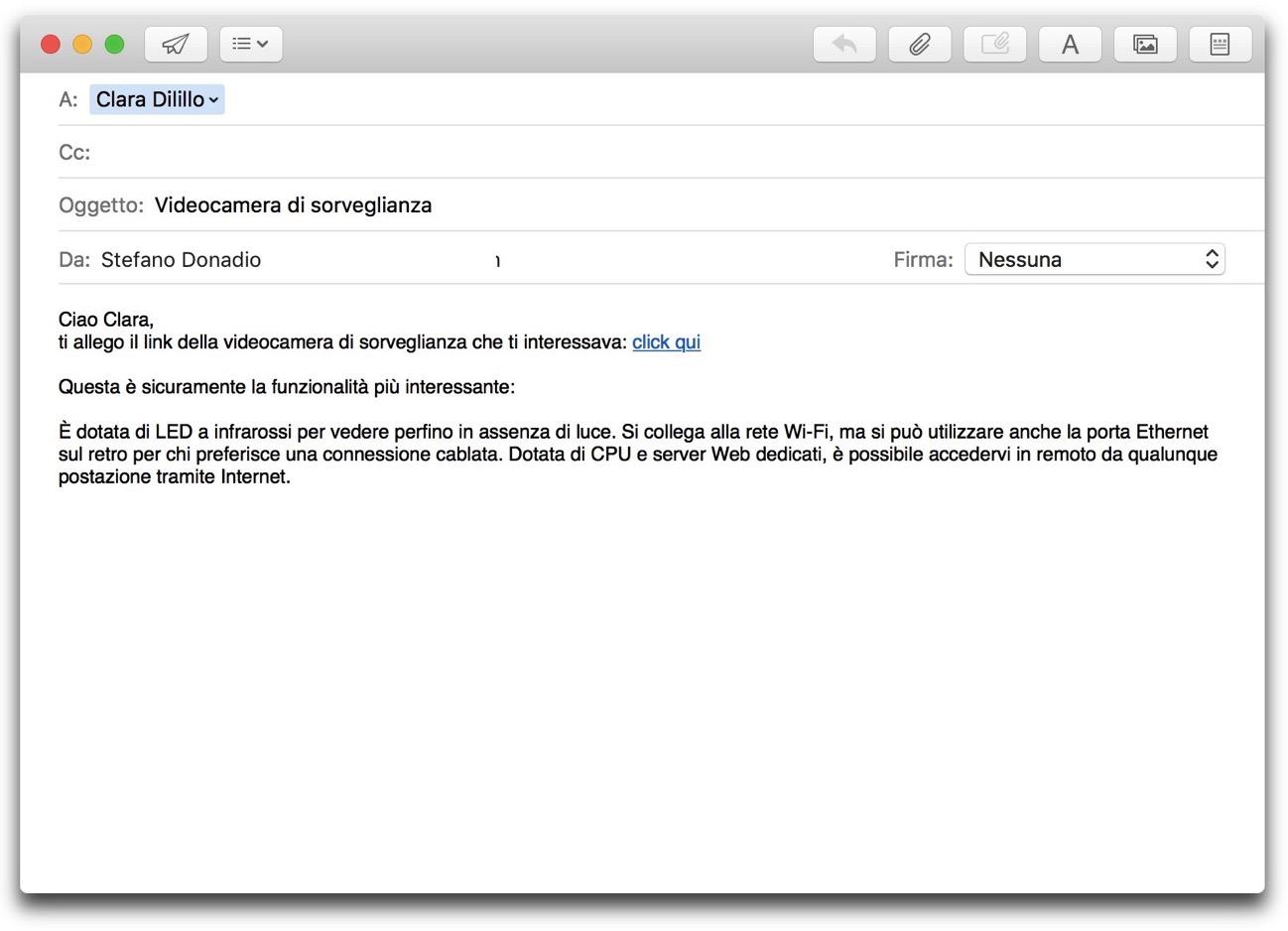 Mail formattazione 002
