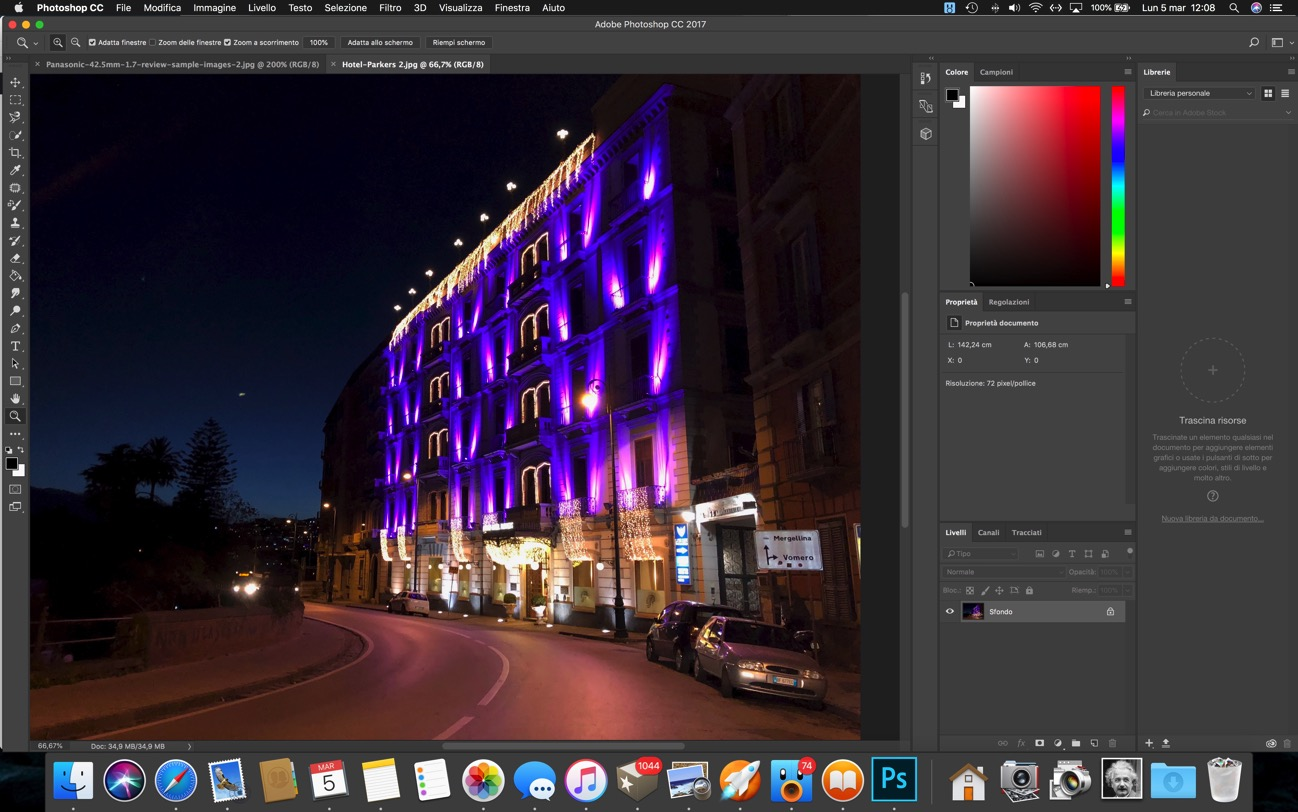 Photoshop tema scuro
