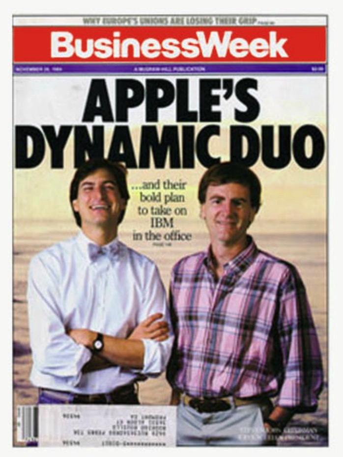 Apple dynamic duo