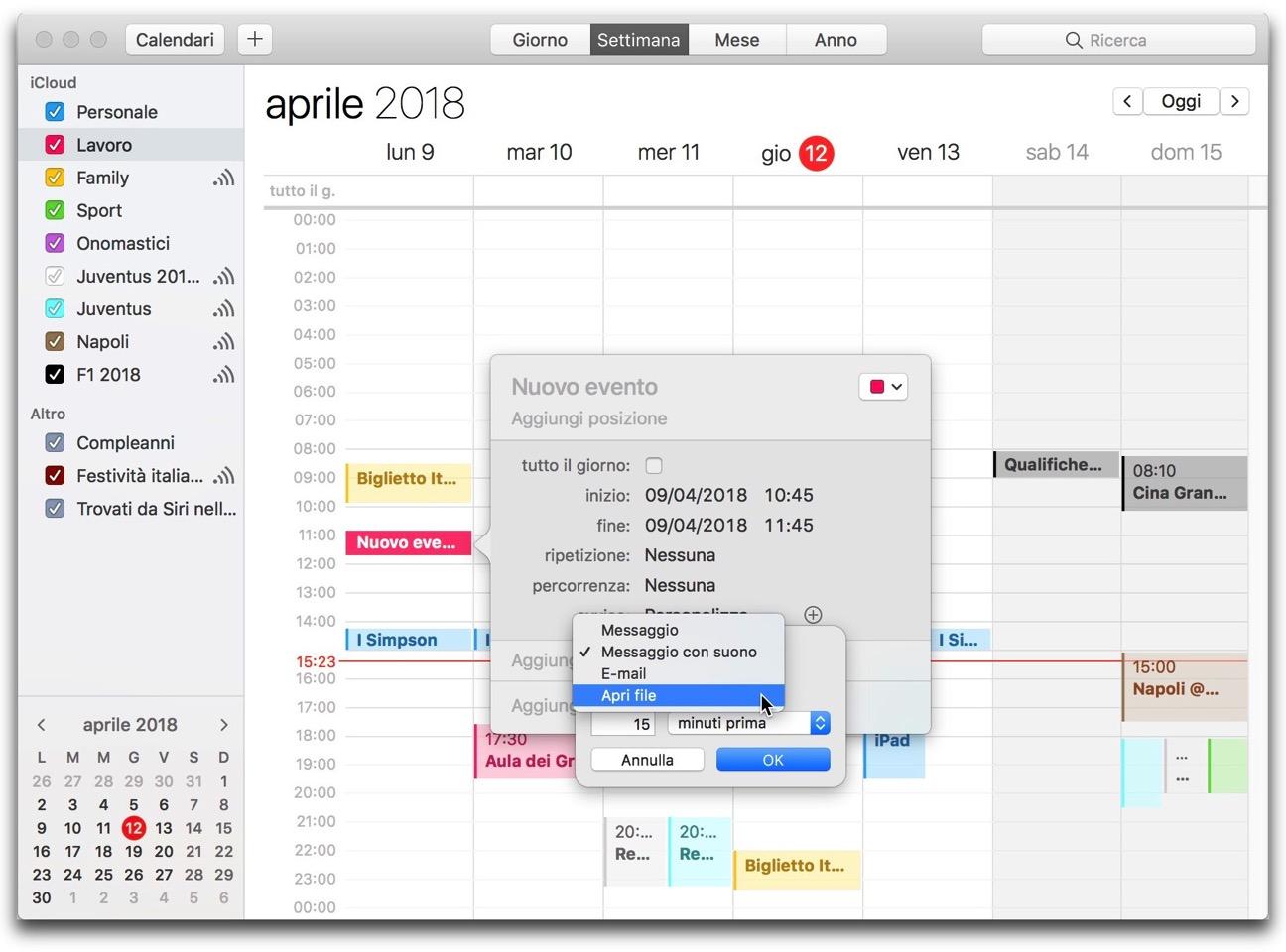 Calendario apri file 03