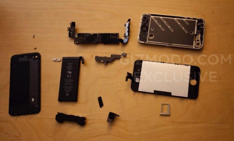 Gizmodo iPhon 4 smarrito smontato