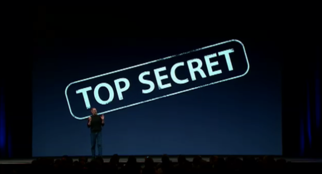 Top Secret Steve Jobs