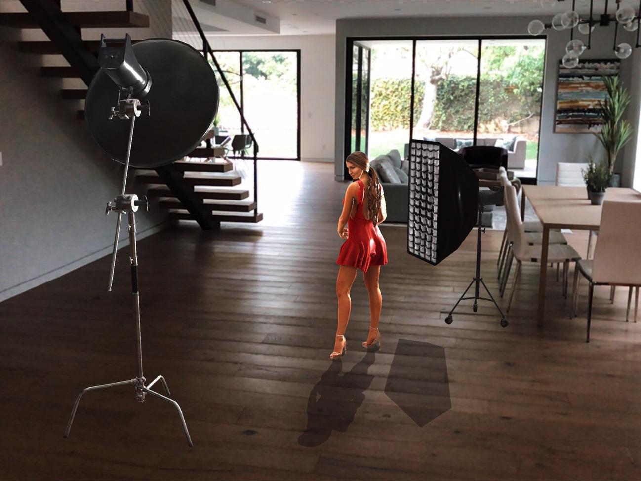 Augmented reality photo studio superba AR 02