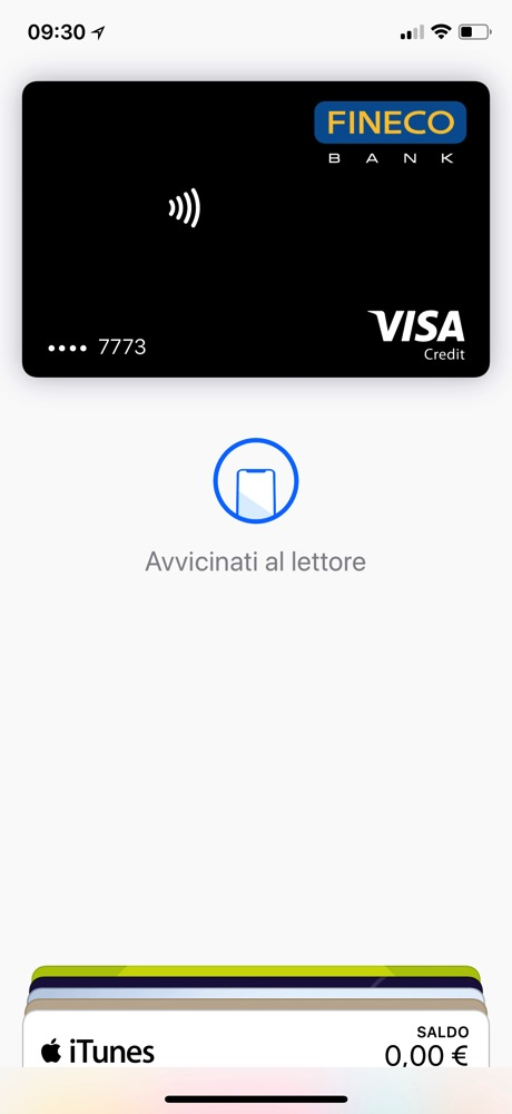 Apple Pay Fineco
