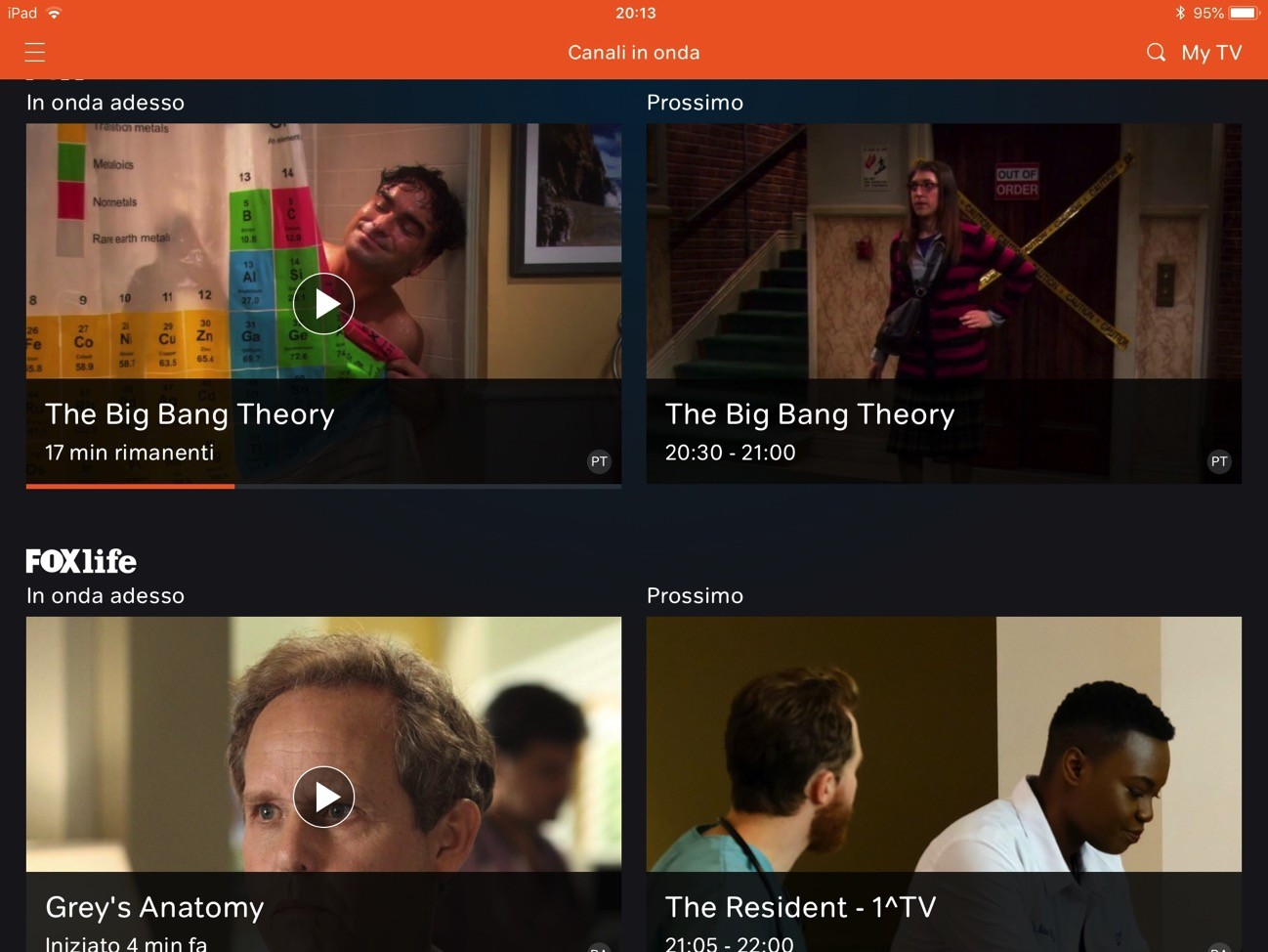 Now TV Binge Watching