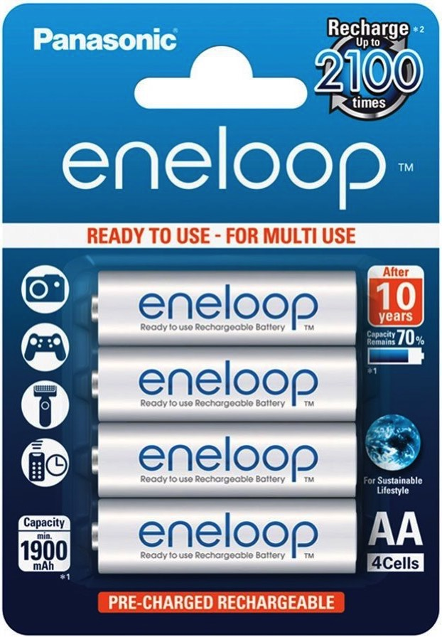Panasonic Eneloop 4