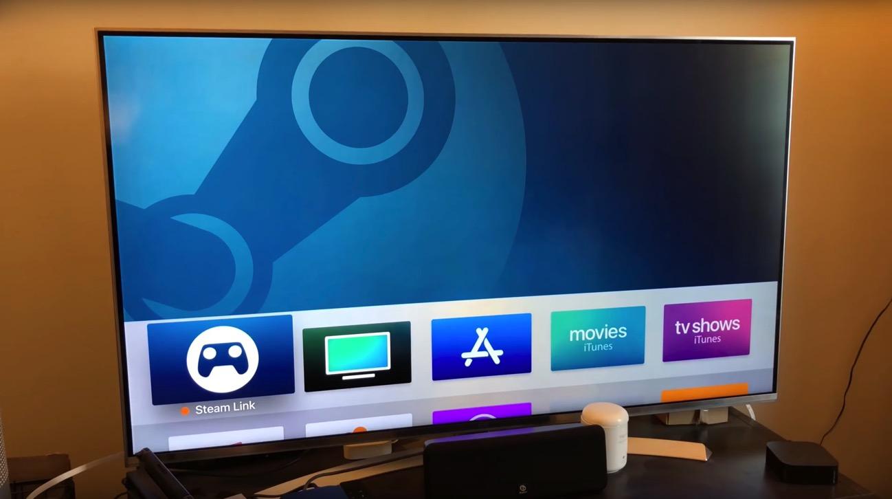 Steam link Apple Tv