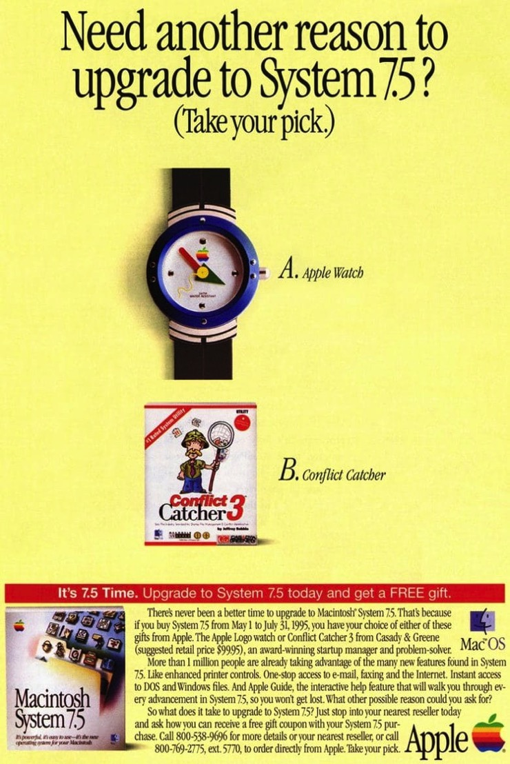 Apple watch system 7 5