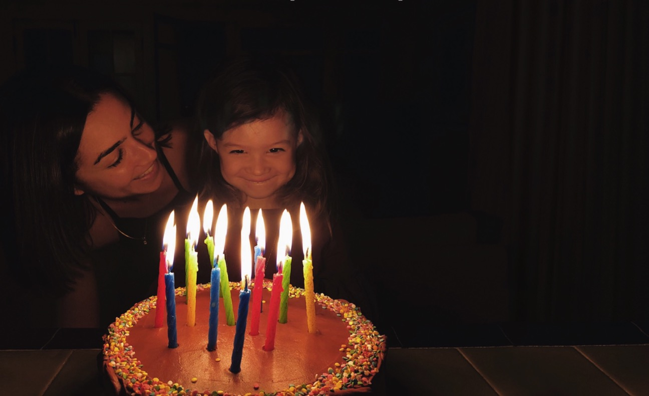 Foto compleanno perfetta