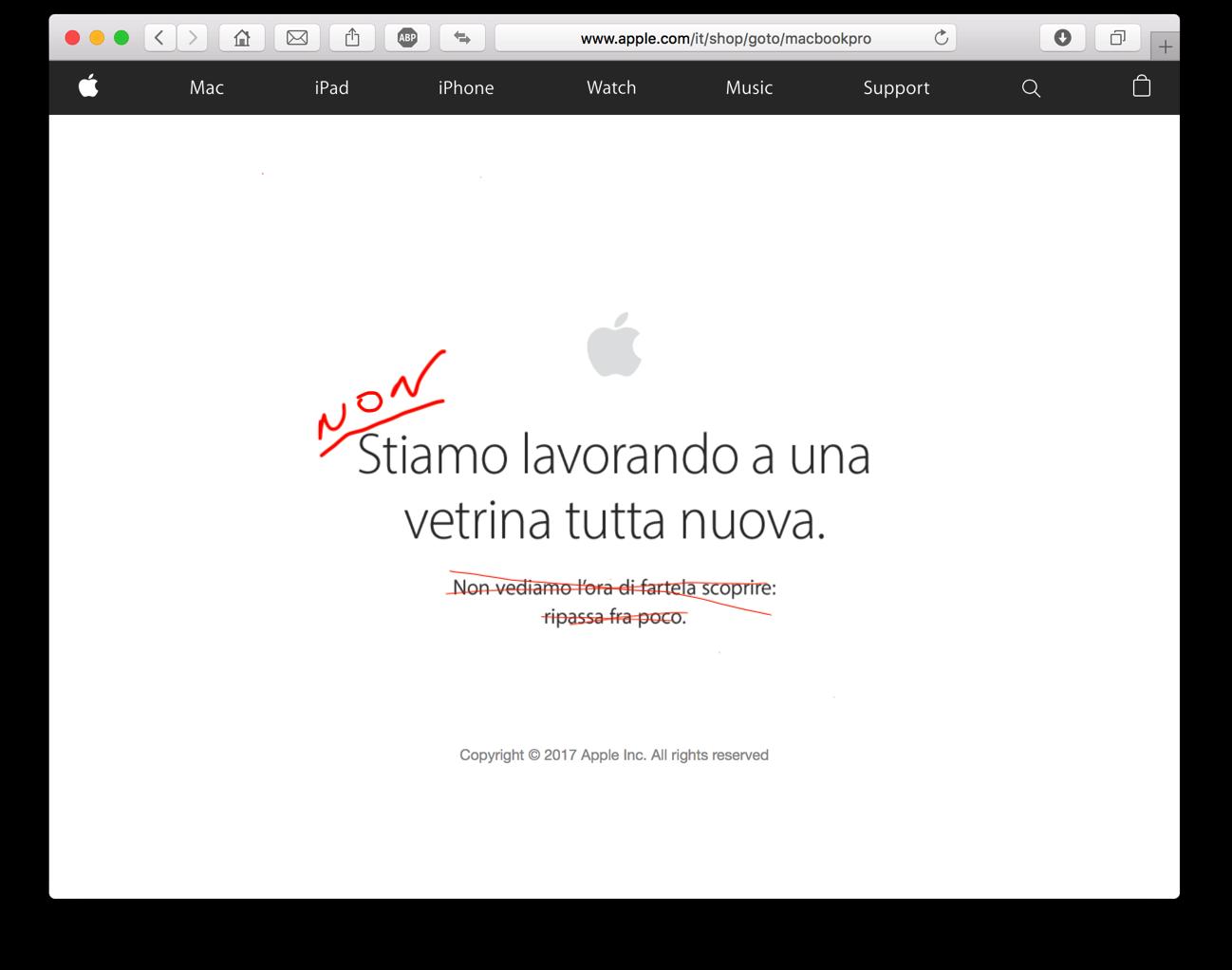 Apple non offline