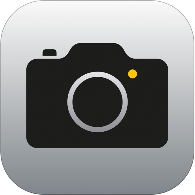 Fotocamera icona iOS 7