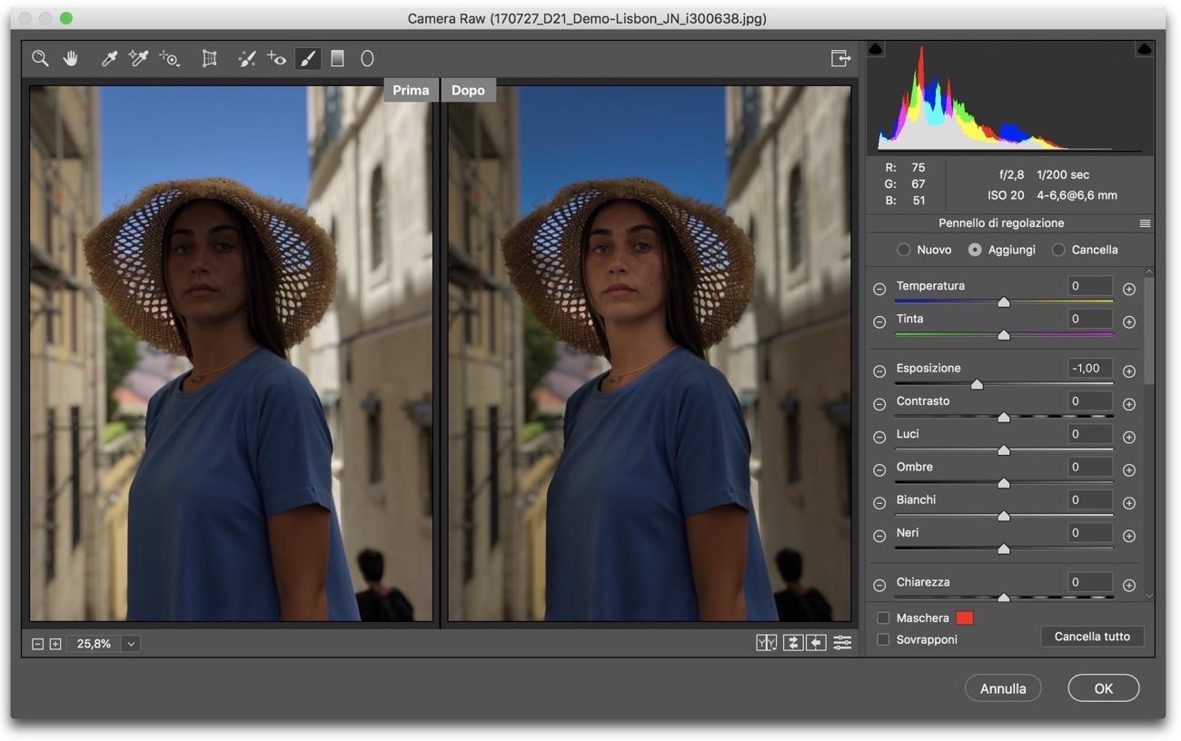Photoshop scherma brucia 001