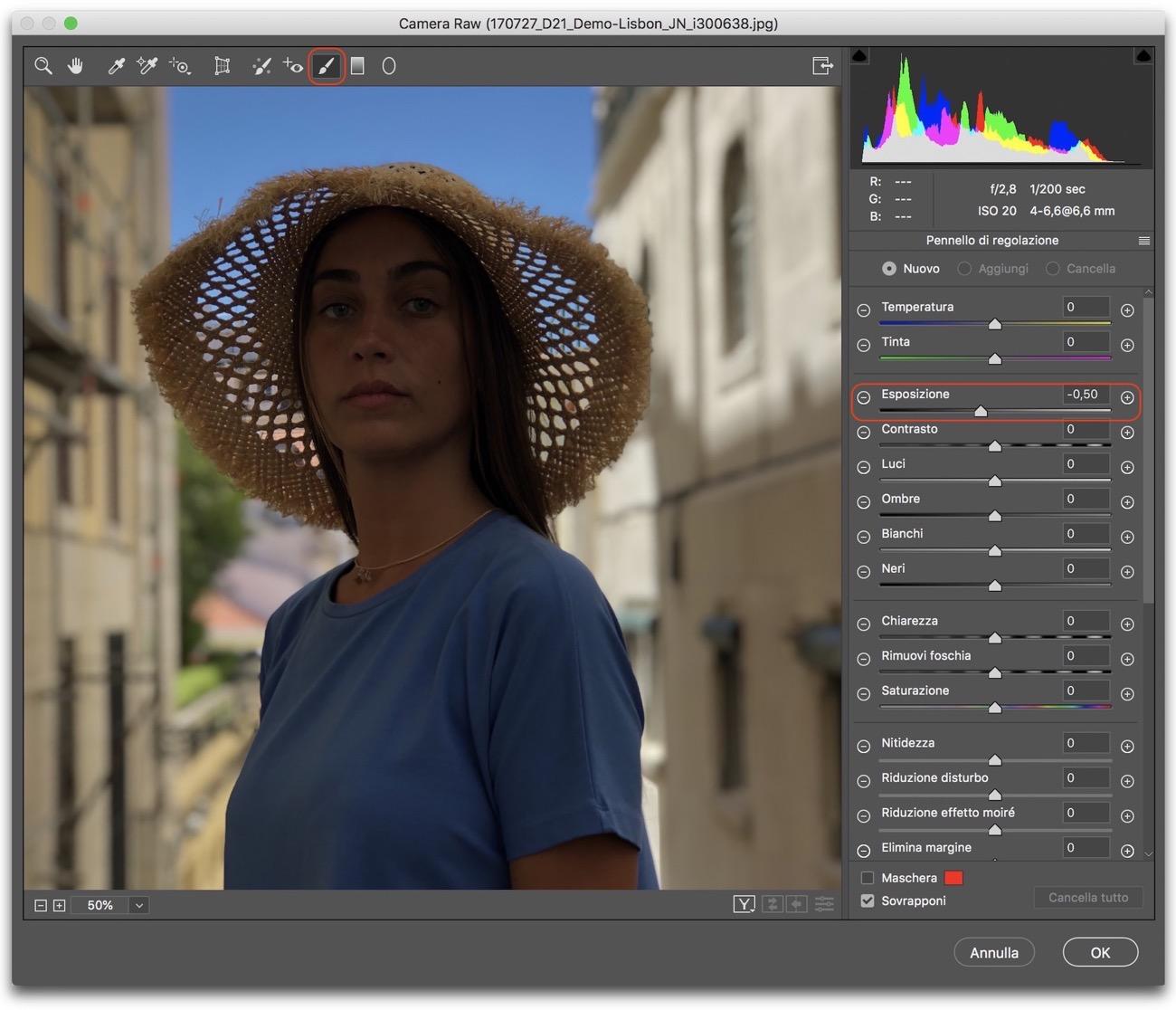 Photoshop scherma brucia 002
