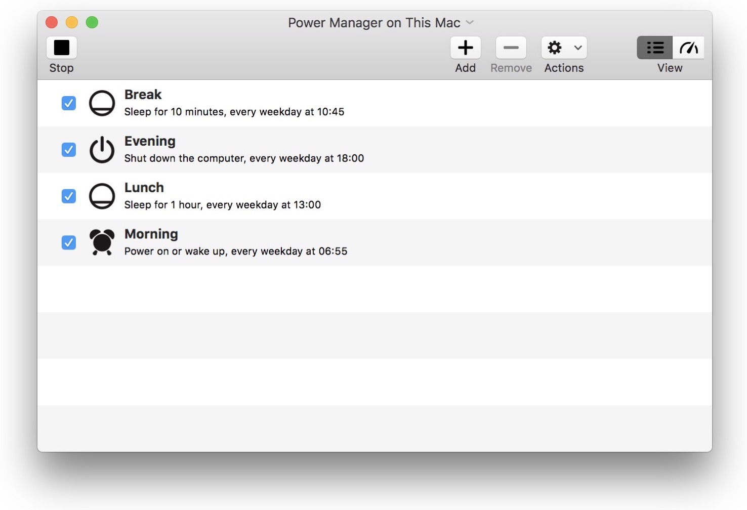 Power Manager Mac