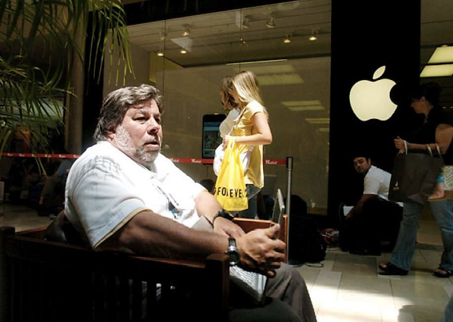 Steve Wozniak iPhone 2007