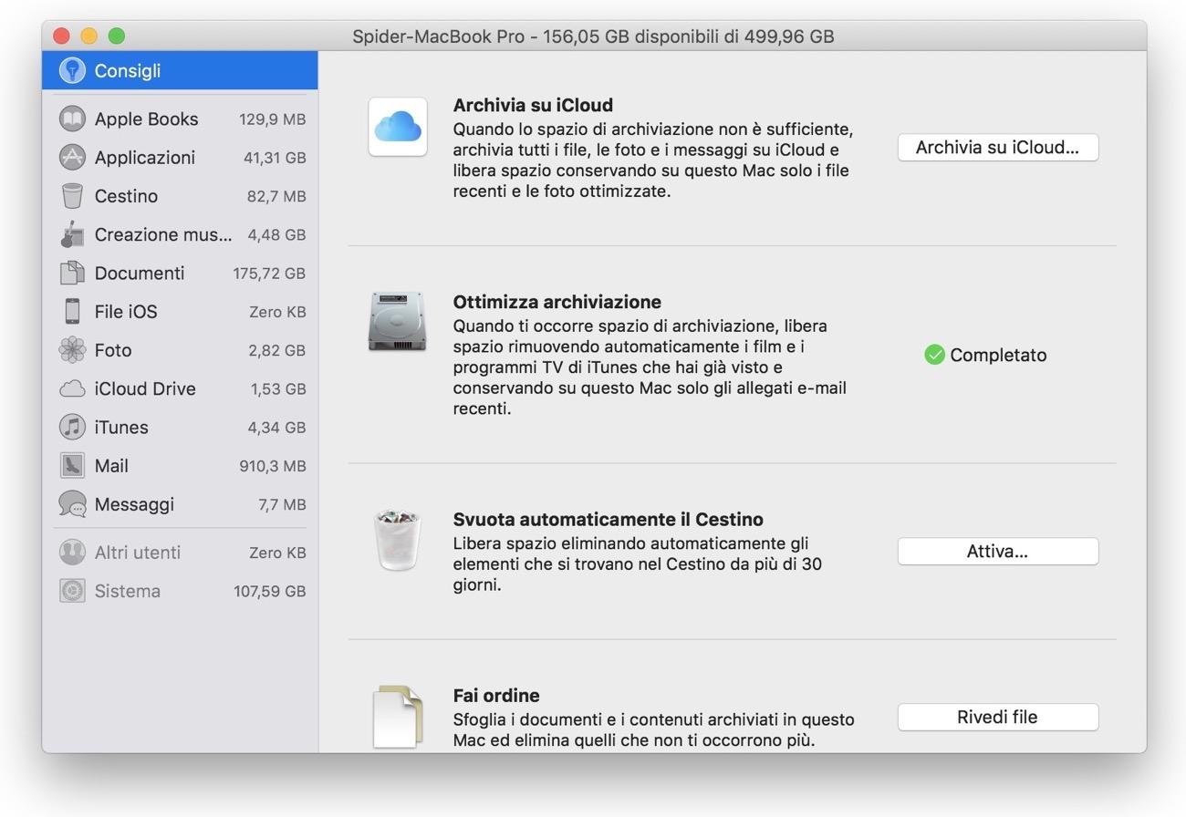 MacOS Sierra file junk