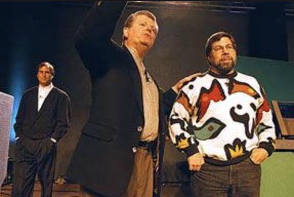 Amelio Jobs Wozniak