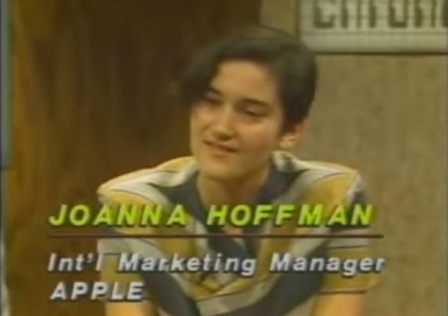 Joanna Hoffman Apple
