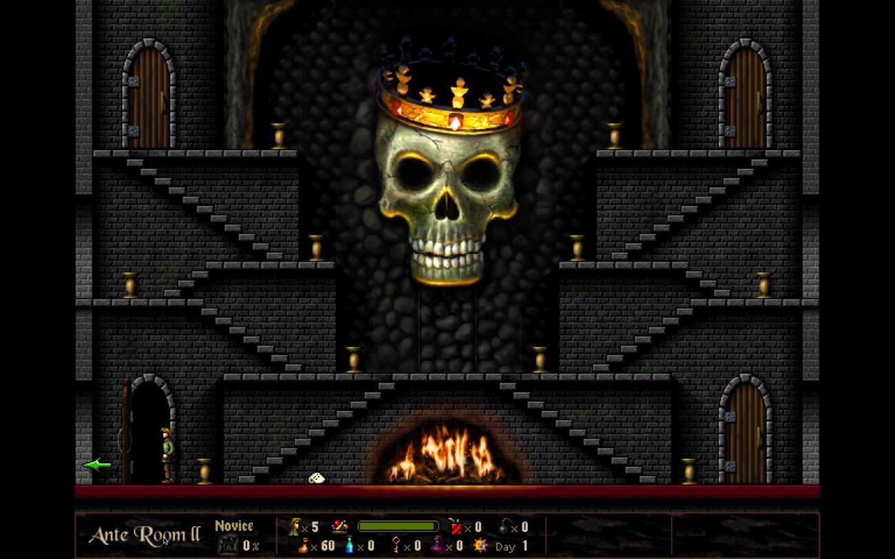 Return Dark Castle porte