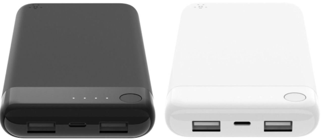 Belkin boost charge power bank lightning input