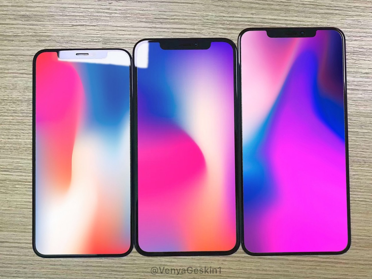 IPhone 2018 pannello vetro rumor
