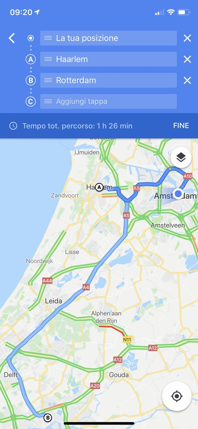 Google Maps tappa 06