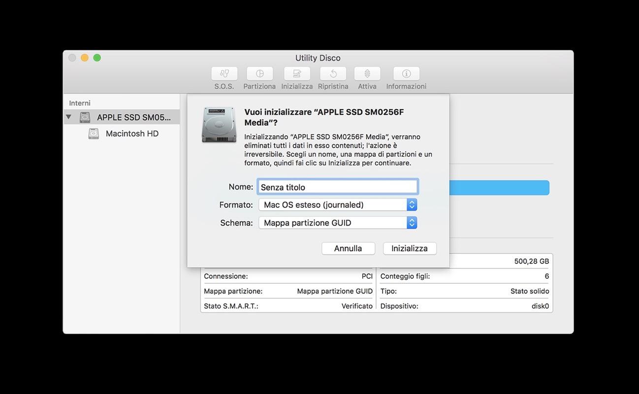 Macos mojave installazione pulita senza unit avviabile spider mac - Er finestra mac ...