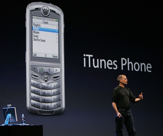 Jobs iTunes Phone