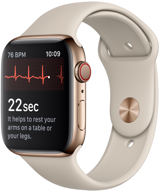 Apple watch series4 ecg crown 09122018