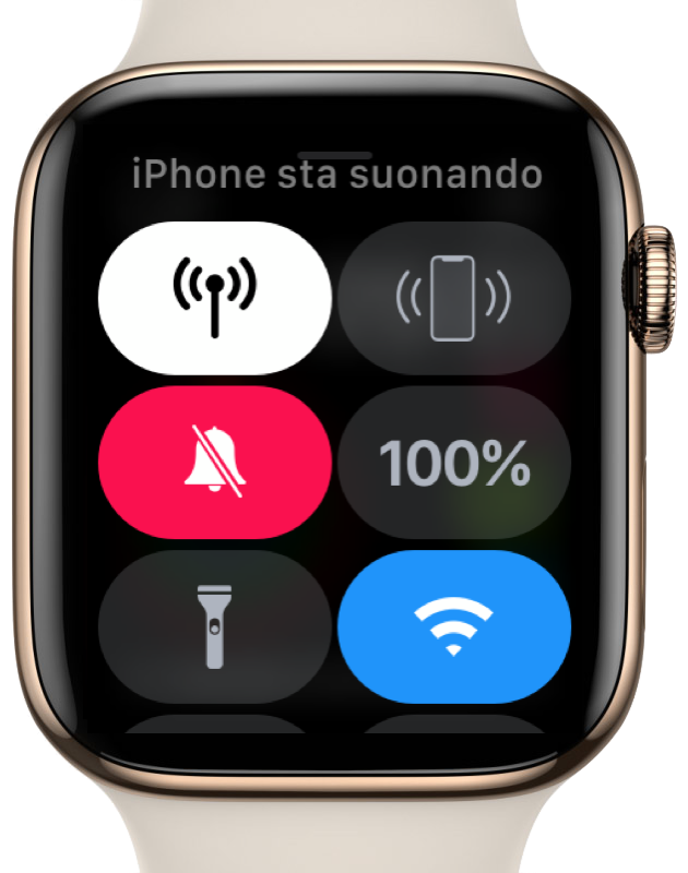 Apple Watch ping iphone