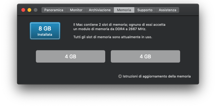 Mac mini 2018 RAM