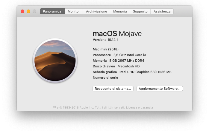 Mac mini Core i3