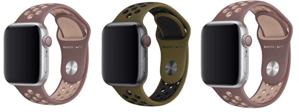 Nuovi cinturini Apple Watch Nike2018