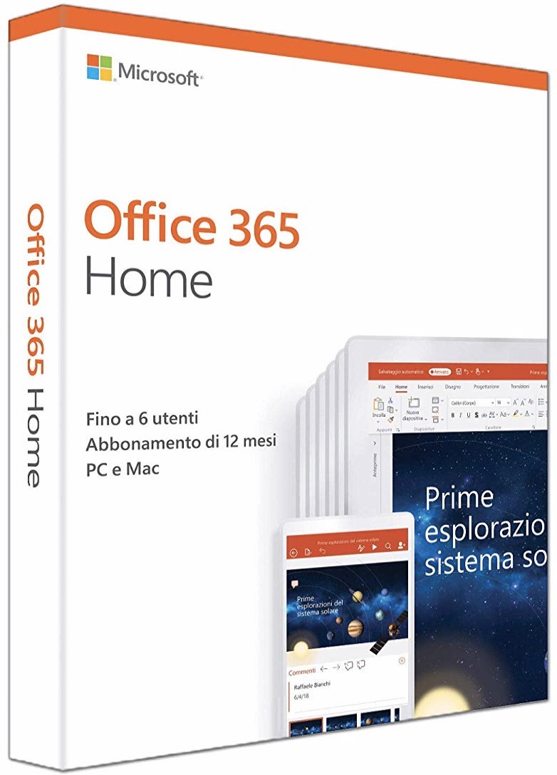 Office 365 Home 1 anno