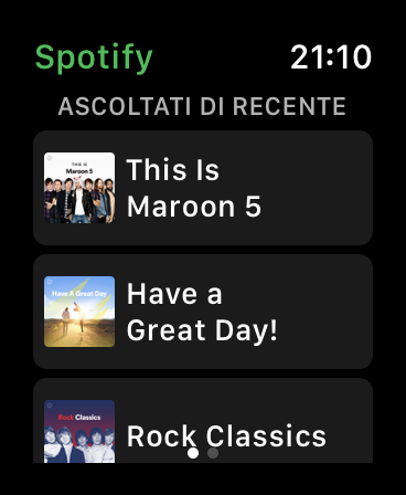 Spotify Apple Watch 02