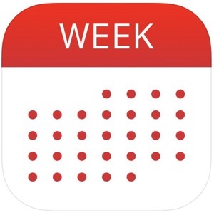 WeekCal for iPad