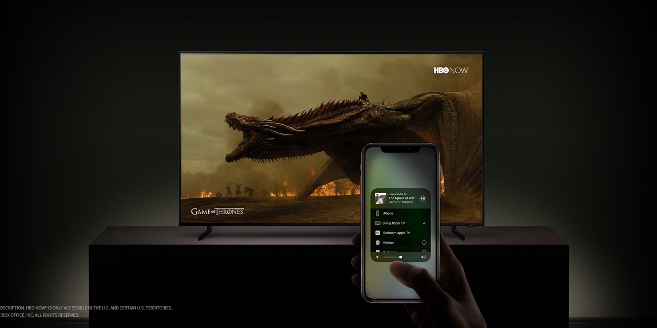 Apple samsung tv