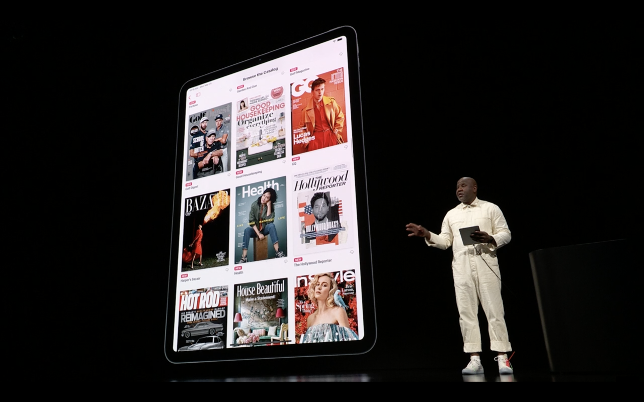 Apple news plus demo