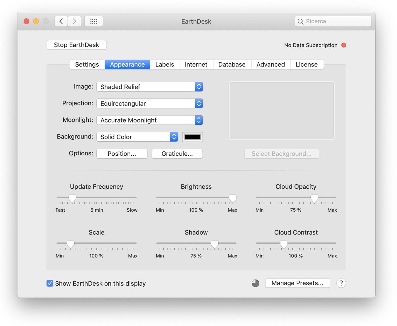 EarthDesk macOS