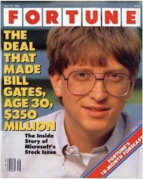Fortune Bill Gates 1986
