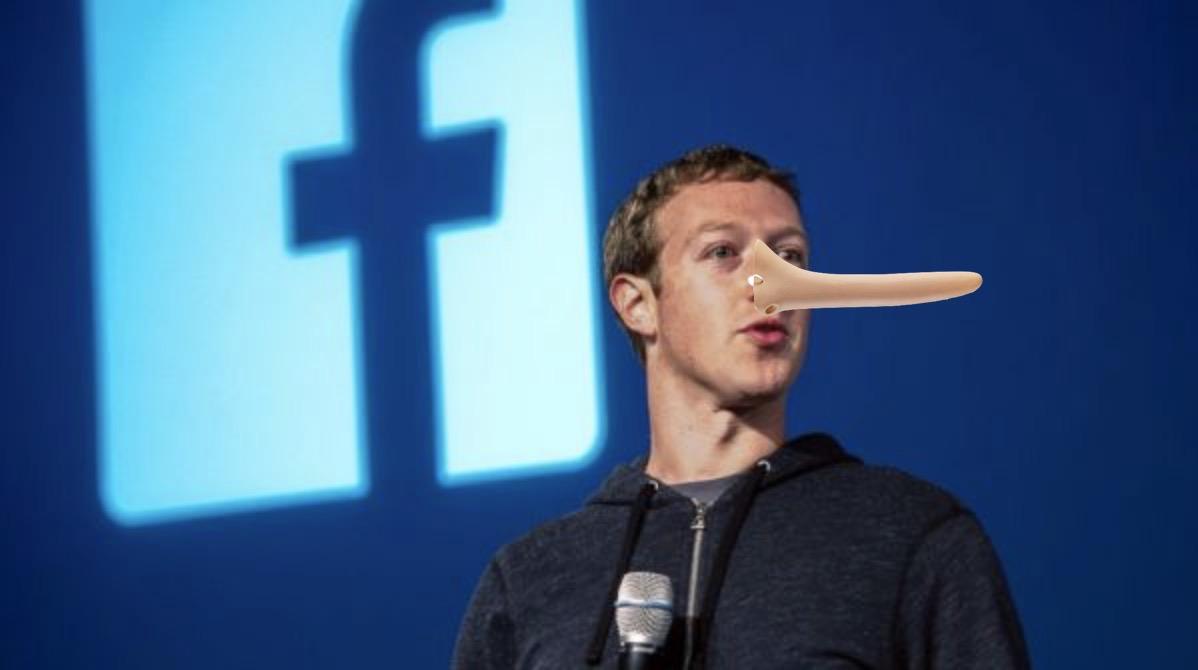 Mark Zuckerberg pinocchio