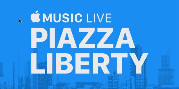"Apple Store Piazza Liberty Milano: primo evento ""Apple Music Live'""  il 28 marzo"