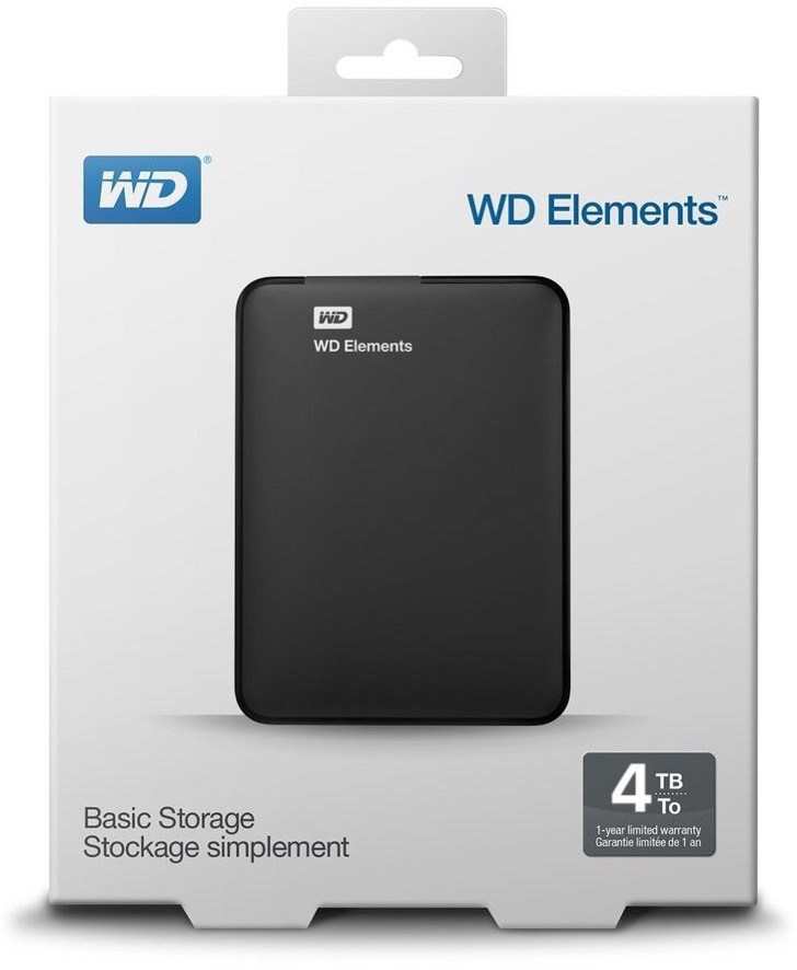 WD Elements Box