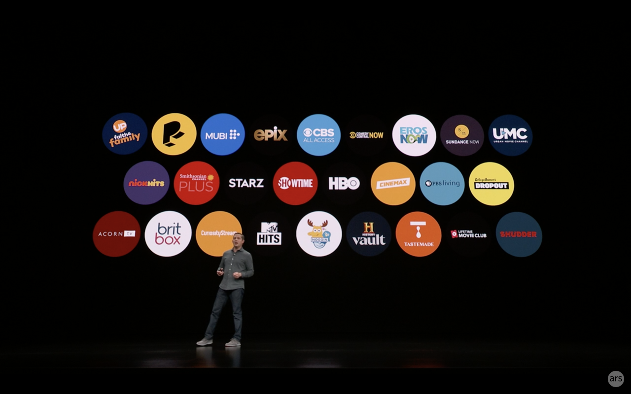 Apple tv plus canali