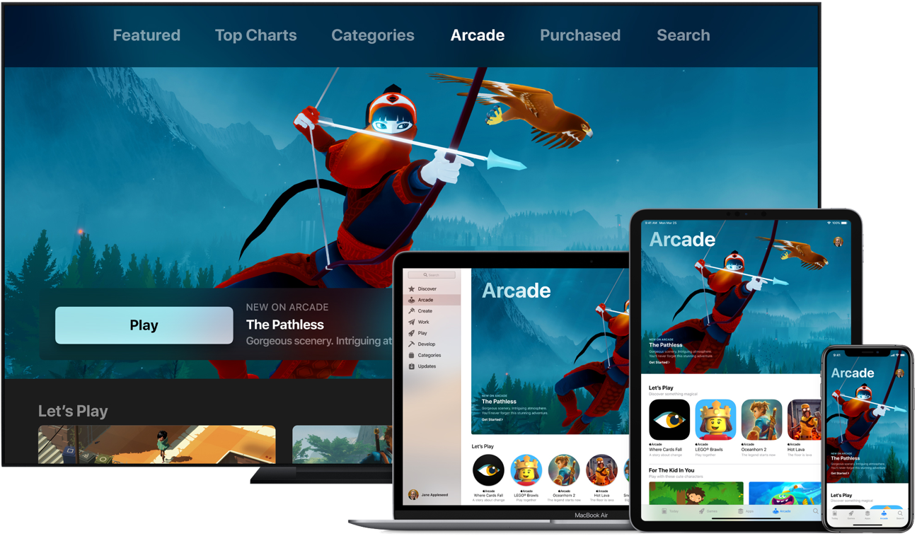 Apple apple arcade apple tv ipad pro iphone xs