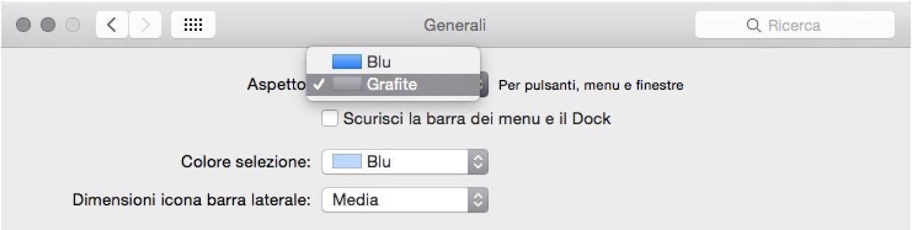 MacOS grafite