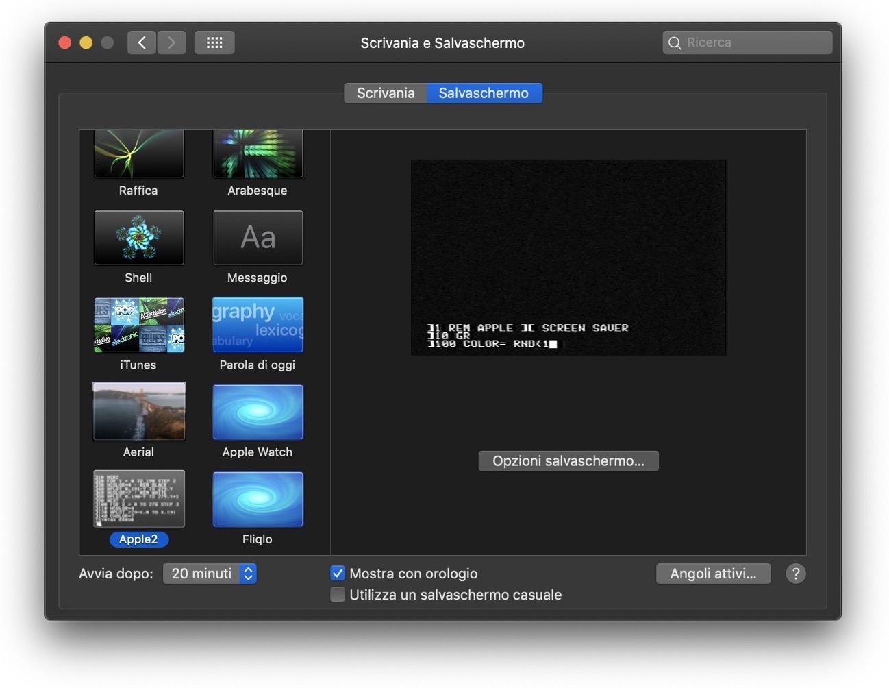 Mojave XScreenSaver