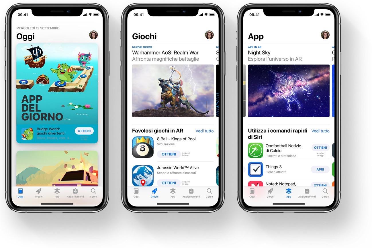 App Store Corte suprema