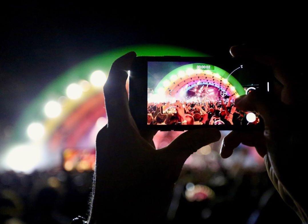 Apple Park concerto palcoscenico